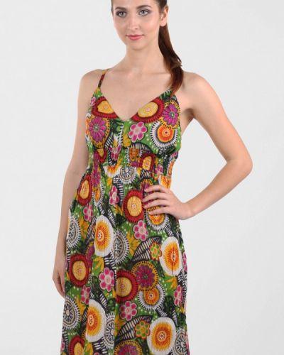 Повседневное платье осеннее платье-сарафан Panove