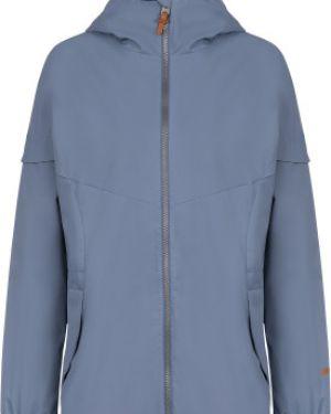 Синяя свободная куртка с капюшоном на молнии свободного кроя Merrell