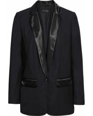 Пиджак двубортный черный Bonprix