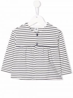 Biała koszula bawełniana Petit Bateau