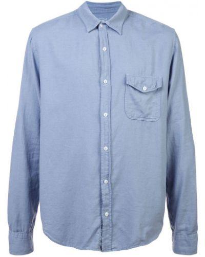 Рубашка с длинным рукавом фланелевая хаки Save Khaki United
