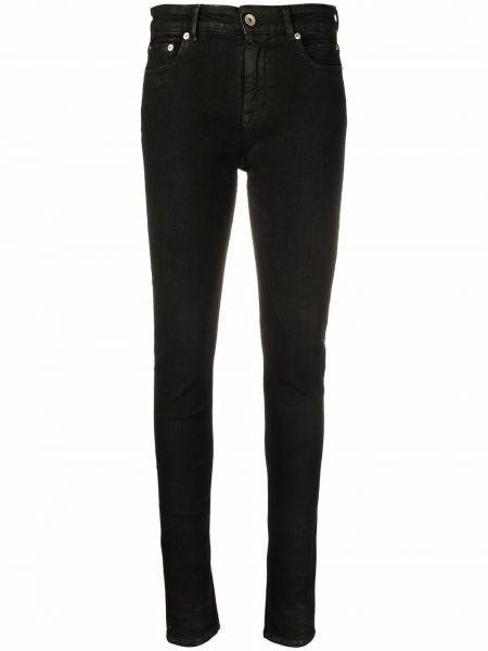 Джинсовые зауженные джинсы - черные Rick Owens Drkshdw