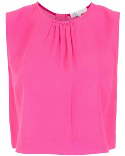 Розовая блузка без рукавов НК