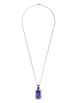 Кожаное ожерелье - серебряное Stephen Webster