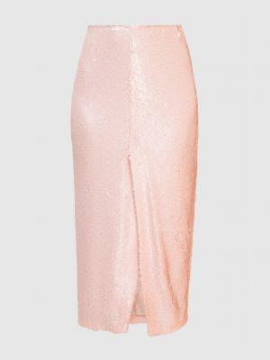 Розовая юбка миди Sally Lapointe