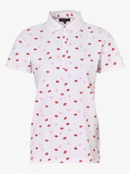 Koszulka polo biały Marie Lund
