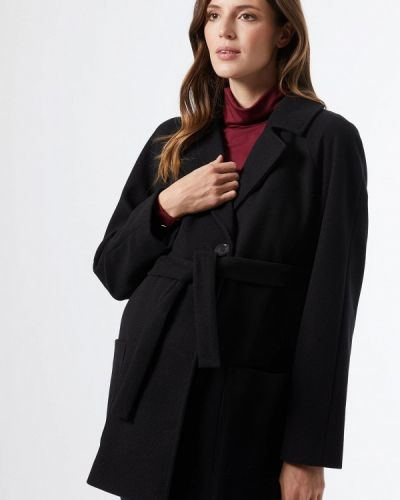 Черное пальто для беременных Dorothy Perkins Maternity