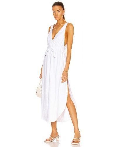 Biała sukienka bawełniana Atoir