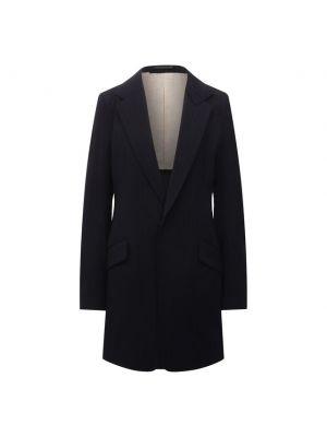 Шерстяной пиджак - синий Y`s