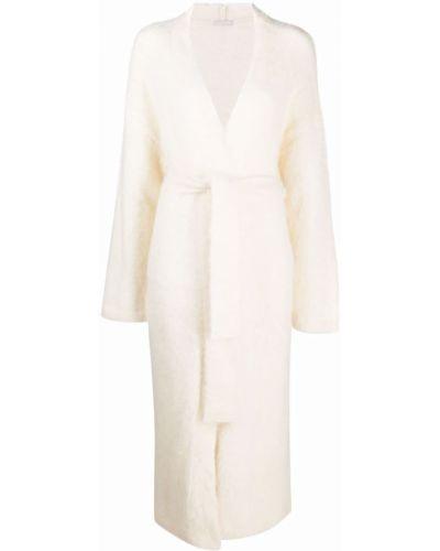 Пальто из альпаки - белое 12 Storeez