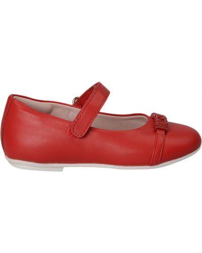 Красные туфли Moschino