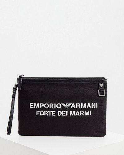 Черный несессер Emporio Armani