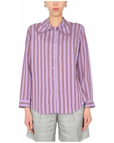 Koszula oversize w paski z długimi rękawami Ps By Paul Smith