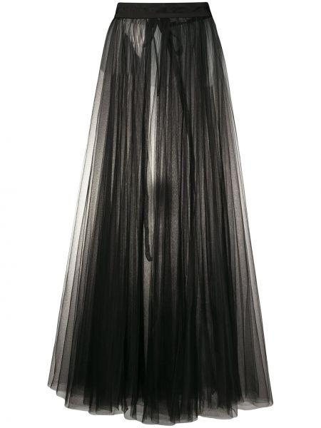 Плиссированная юбка с завышенной талией макси Loulou