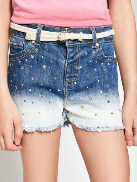 Szorty jeansowe - granatowe Mayoral
