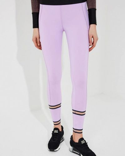 Леггинсы спортивные фиолетовый Trussardi Sport