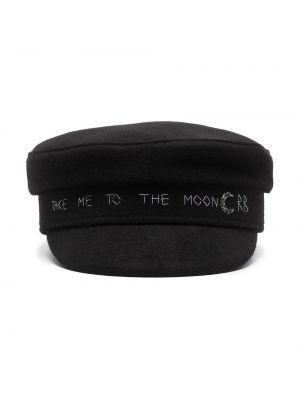Шерстяная кепка - черная Ruslan Baginskiy