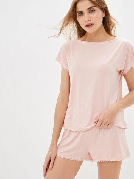 Розовая пижамная пижама Luisa Moretti