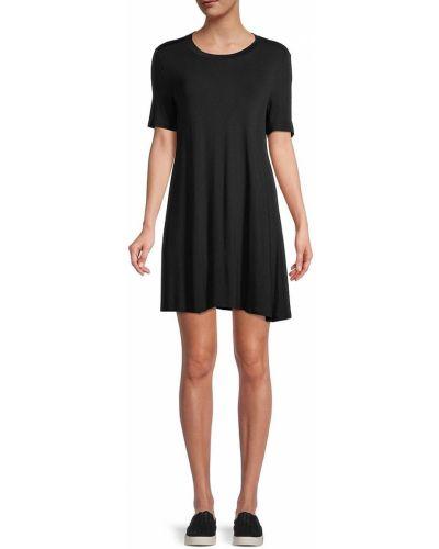Черное платье а-силуэта Bcbgeneration