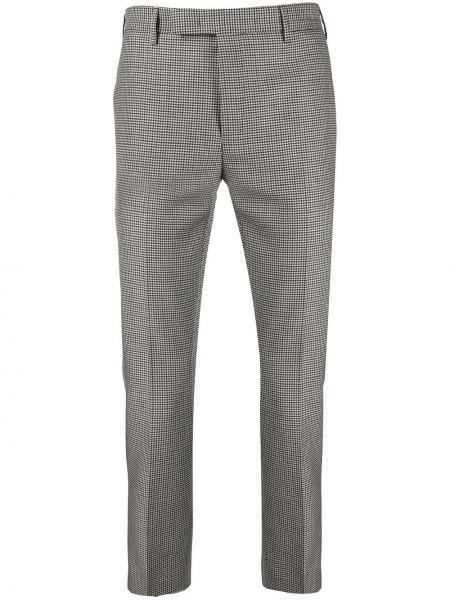 Wełniany spodnie z paskiem Pt01