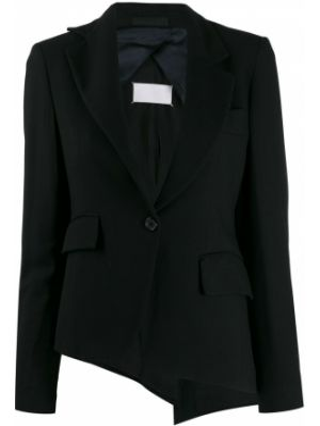 Черная куртка с манжетами на пуговицах узкого кроя Maison Martin Margiela Pre-owned