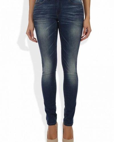 Синие джинсы-скинни Ichi