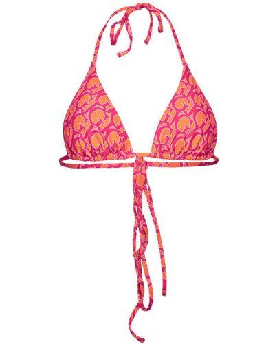 Pomarańczowy bikini Guess