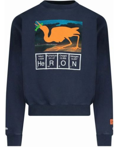 Bluza dresowa - niebieska Heron Preston