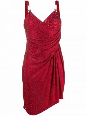 Платье с вырезом - красное Philipp Plein