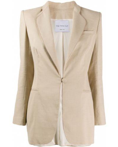 Приталенный классический пиджак с карманами Hebe Studio