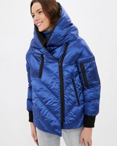 Утепленная синяя куртка Pantamo
