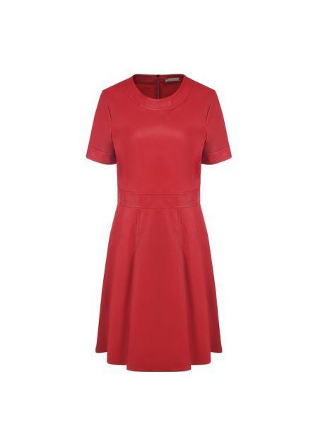 Вечернее платье мини с поясом Bottega Veneta