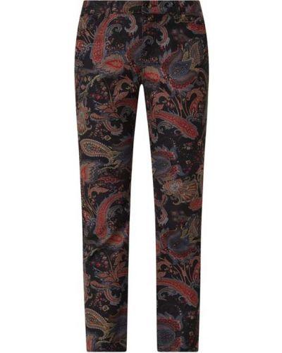 Czarne spodnie bawełniane Christian Berg Women