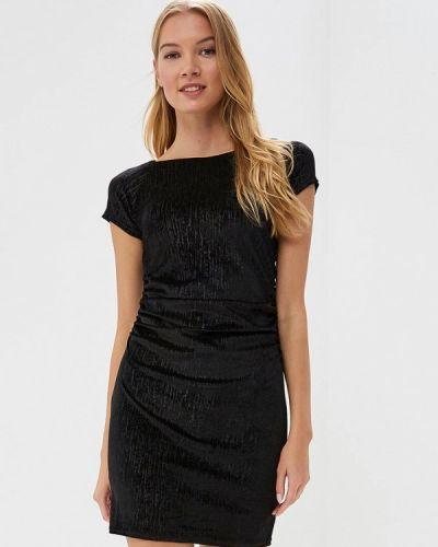 Платье осеннее черное Coclo