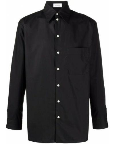 Czarna koszula Lemaire