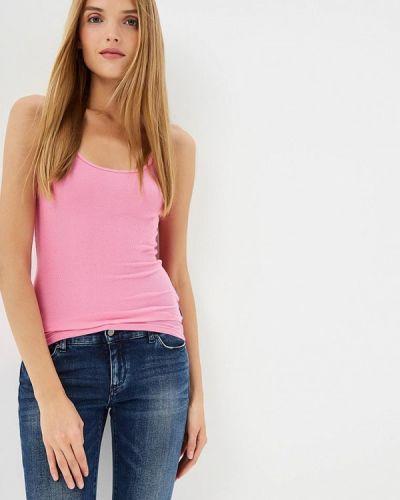 Розовая майка Armani Exchange