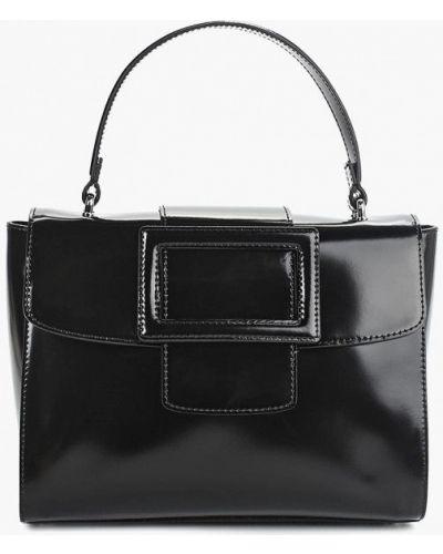 Кожаная сумка черная итальянский Madeleine