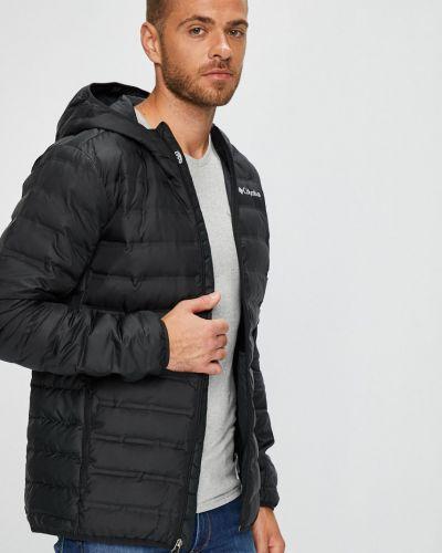Утепленная куртка с капюшоном стеганая Columbia