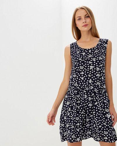 Платье весеннее синее H:connect