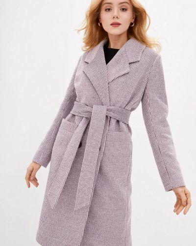 Красное пальто двубортное Danna