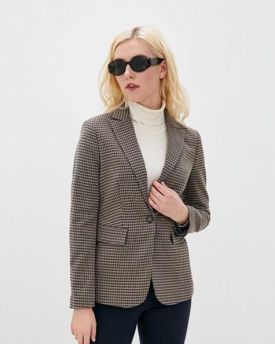 Коричневый пиджак Marks & Spencer