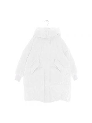 Płaszcz - biały Mm6 Maison Margiela