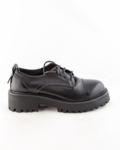 Черные полуботинки осенние Sidestep