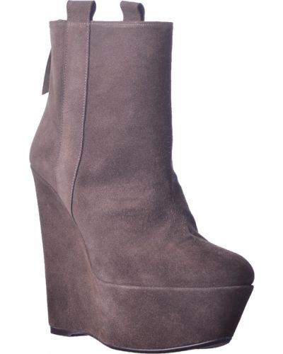 Ботинки на платформе кожаные на каблуке Stuart Weitzman