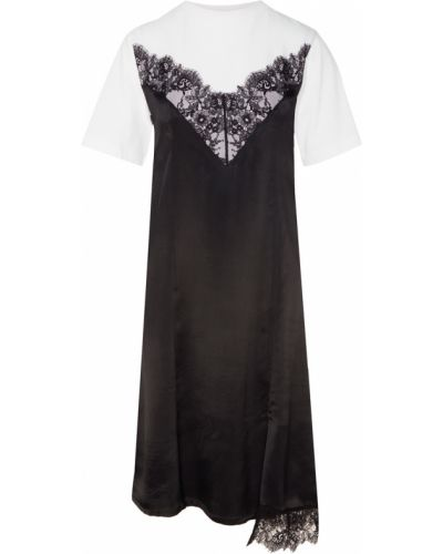 Платье мини миди с декольте Mo&co