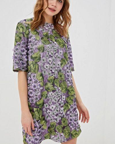 Вечернее платье весеннее фиолетовый Madam T