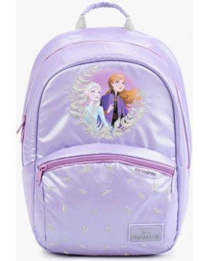 Рюкзак фиолетовый Samsonite
