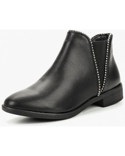 Ботинки челси осенние кожаные Befree
