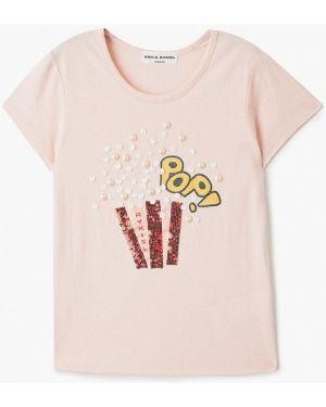 Розовая футболка Sonia Rykiel