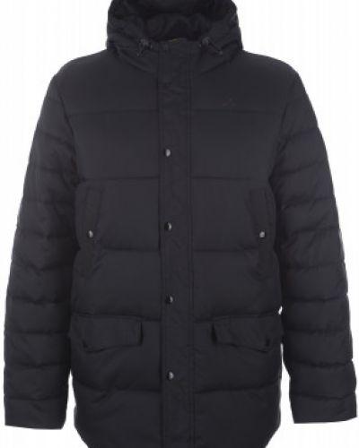 Зимняя куртка длинная с капюшоном Demix